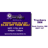 Discounted Dinner @ Truckers INN