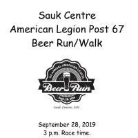 7th Annual American Legion Beer Run/Walk