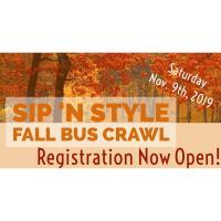Sip 'N Style Fall Bus Crawl