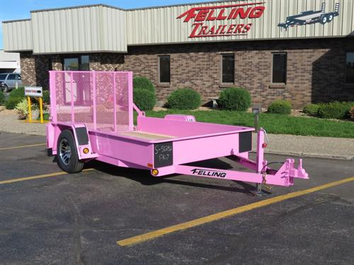 FT-3 Pink Trailer auctioned with 100% of money donated to a breast cancer awareness & education non-profit organization.
