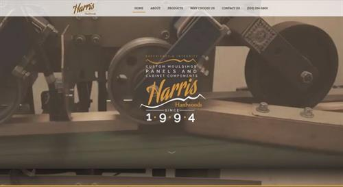 Harris Hardwoods Website