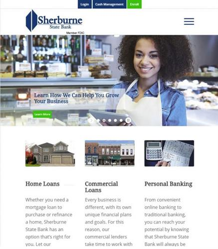 Sherburne State Bank Website