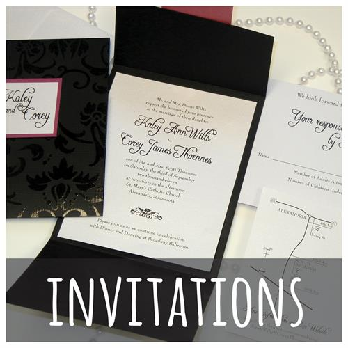 Invitations & Promotional Items
