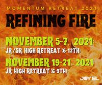 Momentum Retreat - Refining Fire