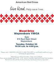 Waynesboro Area YMCA American Red Cross Blood Drive
