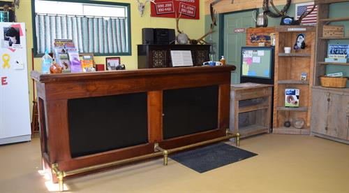 Our office is conducive to friendly registration and helpful travel information.