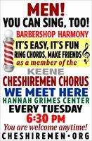 Keene Cheshiremen Chorus - REUNITED! Meeting weekly!