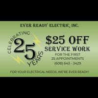 Ever Ready Electric - Mazomanie
