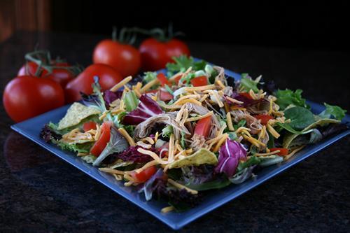 Carnitas Salad.
