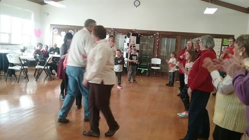 Great fun at the Valentine's Extraveganza for all ages!