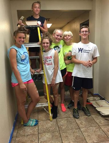 Volunteers in Mission Trip to United Methodist Children's Services Milwaukee