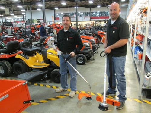 Brad and Dan can help you with any power equipment questions or equipment needs