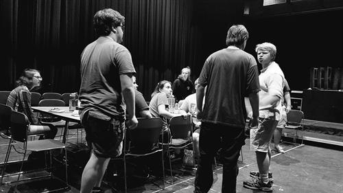 Midstage Theatre Troupe Rehearsal - 12 Angry Jurors 2018