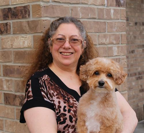 Book your pet's spa day with our Groomer, Christine!