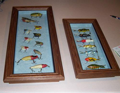 Antique Lure Display Case