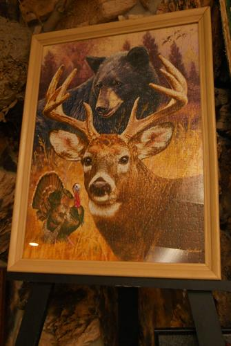 Framed Deer JigSaw Puzzle