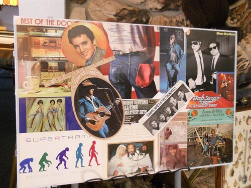 Elvis Collage SetUp (Before Frame)