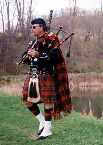 Bagpipes In The Glen Open Air Concert - Second Saturday in July