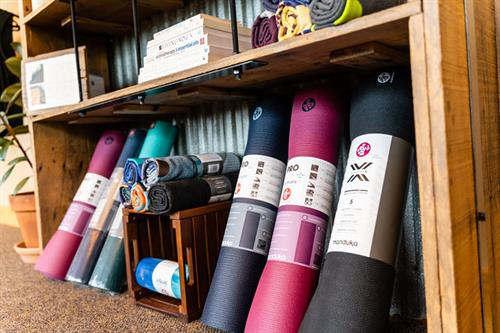 Manduka Mats and Yogitoes