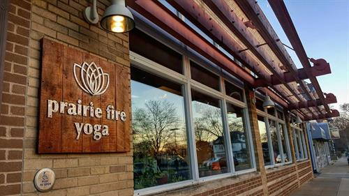 Prairie Fire Yoga and Wellness.