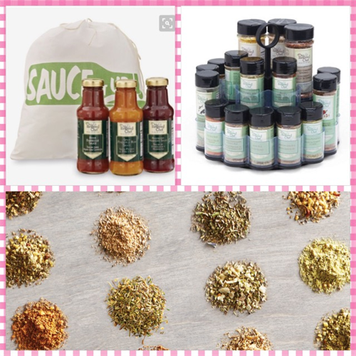 Seasonings, Rubs, and Sauces available as well!