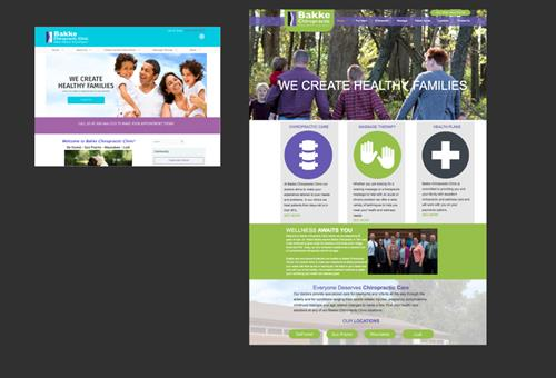 Before and After of a Website Design