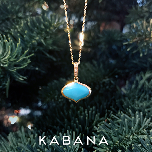 Exclusive Designer, Kabana, in Turquoise