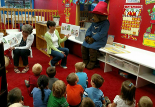 Storytime with Paddington Bear
