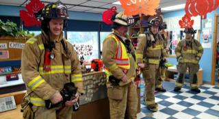 Sauk City Fire Department Visit