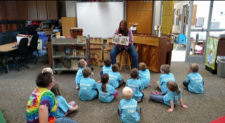 Storytime at Merrimac School