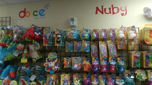 Nuby and Dolce products