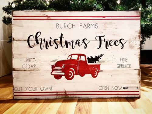 Custom Christmas Sign
