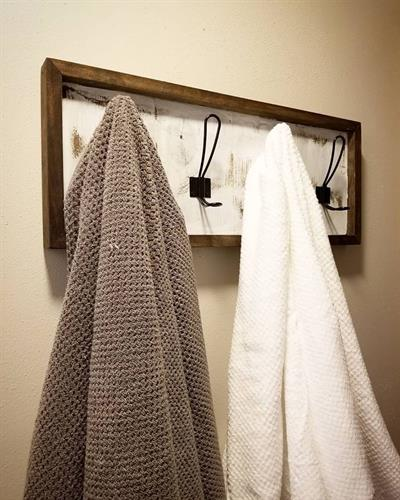 Custom Farmhouse Towel Rack