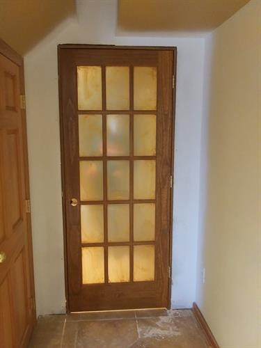 Installing a new door