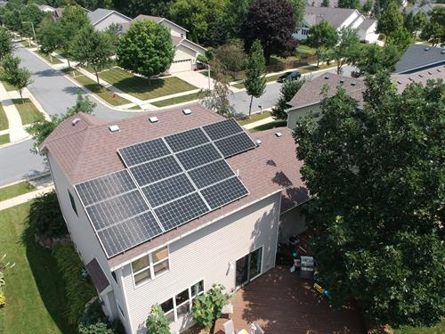 5.4 kW residential solar by Future Electric and Solar