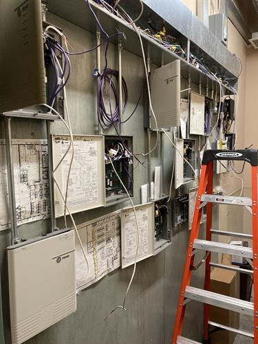 Control wiring by Future Electric and Solar