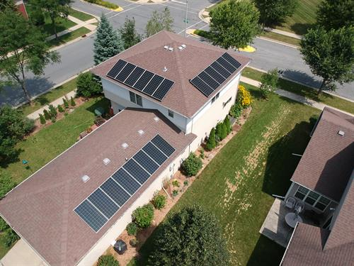 8.2 kW rooftop solar installation by Future Electric and Solar