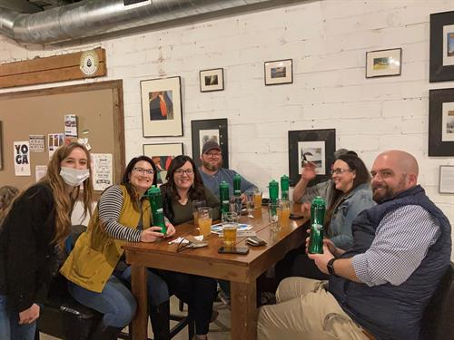 Trivia Night at West Hill Brewery in Indianola Iowa