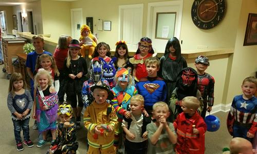 Glen Oaks Halloween Party