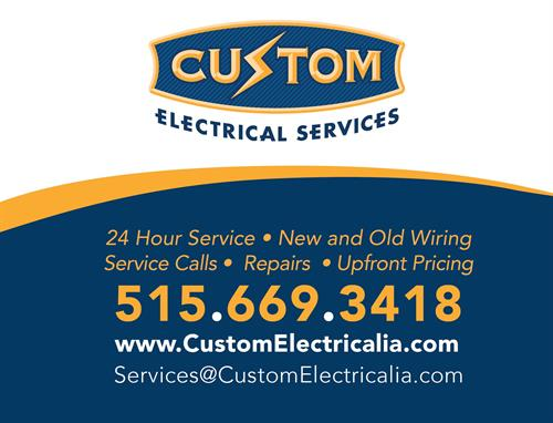 Our electricians are drug tested and background checked!