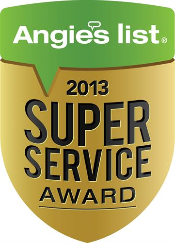 2013 Super Service Award Winner