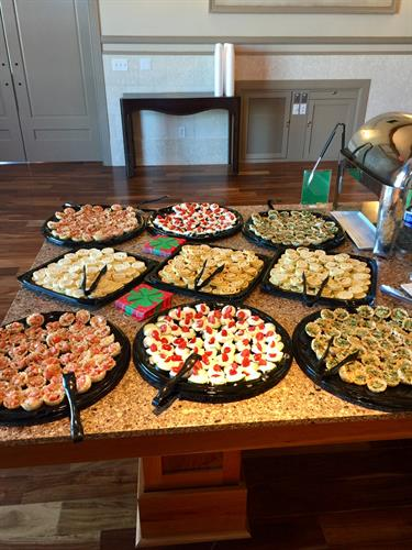 Let us do your holiday party catering!