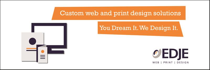 Edje Web Print Design Professional Design Services Graphic Design Printing Screen Printers Des Moines Business Quotes The Urbandale Chamber Of Commerce