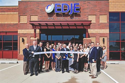 Urbandale Chamber Ribbon Cutting Event at EDJE