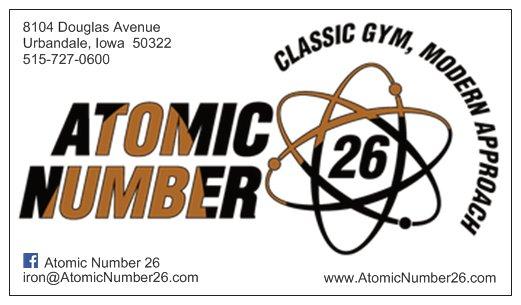ATOMIC NUMBER 26 ®
