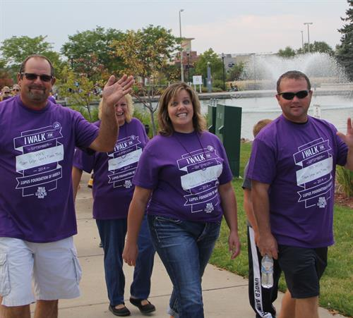 Walk to End Lupus Now 2016 Jordan Creek August 27, 2016 Register: lupusia.org