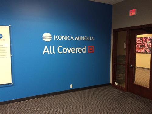 Konica and All Covered - here to serve you!