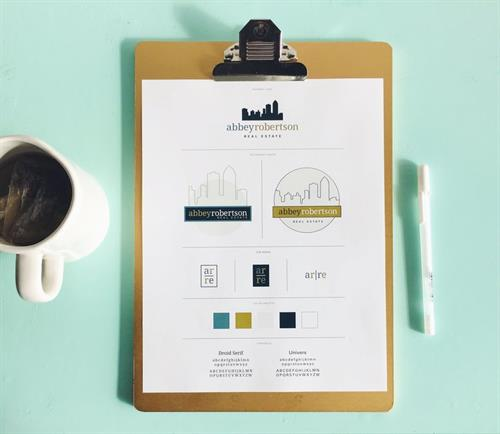 Branding Guide for real estate agent Abbey Robertson