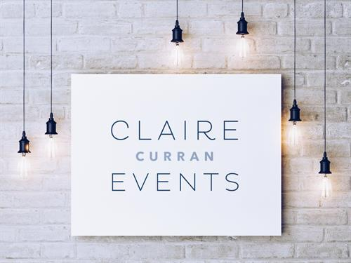 Logo design for Claire Curran Events