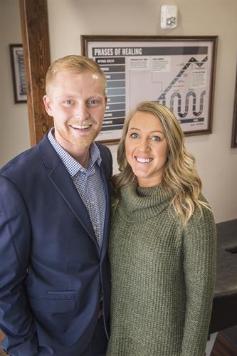 Dr. Shane & wife Kristin Hoffman